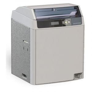 得实证卡打印机DC-7600彩色再转印600DPI重负荷智能卡打印机