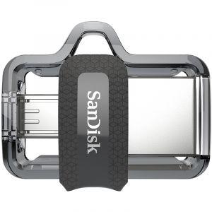 闪迪(SanDisk)32GB至尊高速酷捷OTGUSB3.0手机U盘读150MB/秒,(micro-USB和USB双接