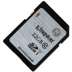 金士顿(Kingston)32GB80MB/sSDClass10UHS-I高速存储卡