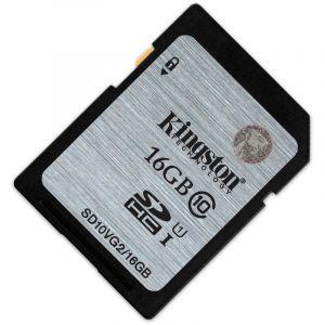 金士顿(Kingston)16GB80MB/sSDClass10UHS-I高速存储卡