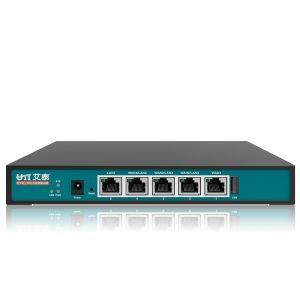 艾泰(UTT)518G企业级路由器全千兆多WAN口上网行为管理器VPN/PPPoE/防火墙