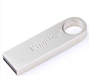 金士顿(Kingston)32GBU盘USB3.0DTSE9G2金属迷你型车载U盘银色亮薄读速100MB/s