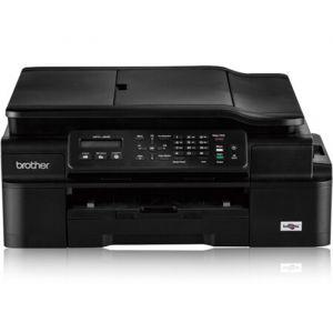 兄弟(brothe)MFC-J200商用彩色喷墨多功能一体机打印复印扫描传真无线WIFI打印