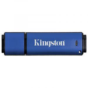 金士顿(Kingston)DTVP3064GB加密USB3.0U盘256位AES硬件加密U盘