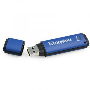 金士顿(Kingston)DTVP308GB加密USB3.0U盘256位AES硬件加密U盘