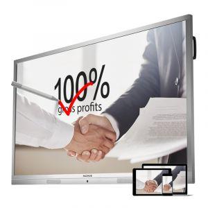 MAXHUB会议平板75英寸标准版电子白板视频会议交互式触摸一体机办公投影智能白板75英寸单机+无线传屏+智能笔