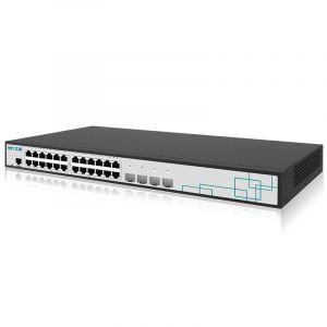 艾泰(UTT)ST3528F企业级二层万兆交换机(24个千兆电口/4个万兆SF