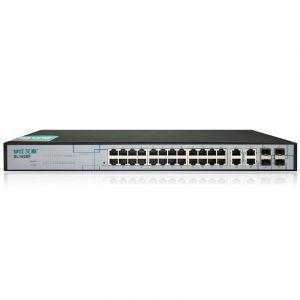 艾泰(UTT)SL1628F24口千兆上联管理交换机(支持上联/端口汇聚/VLAN)