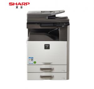 夏普(SHARP)DX-2508NC A3彩色激光多功能复合机(含双面输稿器+双层纸盒)600×600dpi 打印/复印/扫描 25页/分钟 有线网络