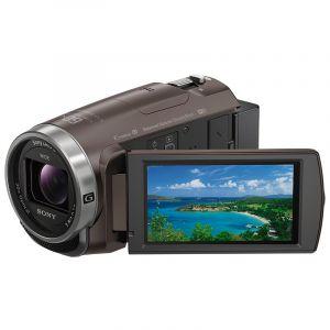 索尼(SONY)HDR-CX680高清数码摄像机棕色带包、64g内存卡、三角支架、两块电池、充电器