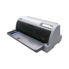 爱普生(EPSON)LQ-2680K 24针136列A3幅面平推针式打印机 1+6联复写 不支持网络打印功能 248字符/秒 适用色带:色带架S015510,色带芯S010079 一年保修