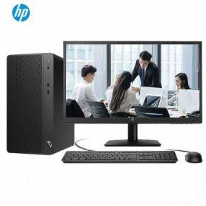 惠普 280G4 I5-8500 4G 250固态硬盘+1T 机械硬盘 DVDRW +21.5寸IPS显示器