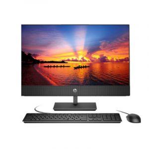 惠普(HP)一体机电脑(HP ProOne 400 G4)(23.8-in Non-Touch All-in-One PC-N7010000059) (I3-81004G1T集显DVDRW神州网信win1023.8英寸USB键鼠100万像素可升降摄像头内置麦克风内置商业级音响) 黑色