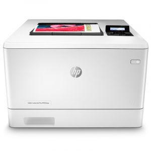 惠普(HP) Color LaserJet Pro M454nw A4彩色激光打印机 支持有线无线打印