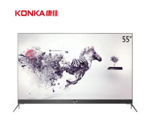 康佳(KONKA)LED55M2 55英寸 4K超薄窄边框智能全民K歌平板液晶电视机