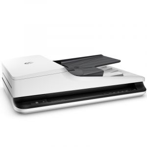 惠普(HP)ScanJetPro2500f1平板+馈纸式扫描仪A4幅面/自动双面扫描