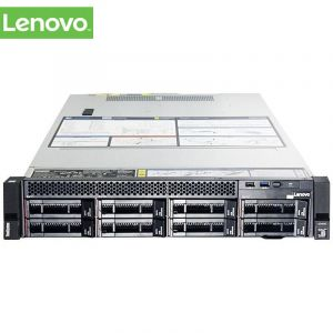 联想(Lenovo)ThinkSystem SR550 2U机架式服务器 2*4210 2.2GHz 10C(核) 85W/32G*8 DDR4 240GSSD*1+4TB*2 SAS 7.2K 标机支持8*3.5 硬盘